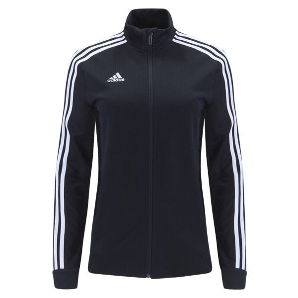 adidas Women's Tiro 19 Training Jacket Black/White