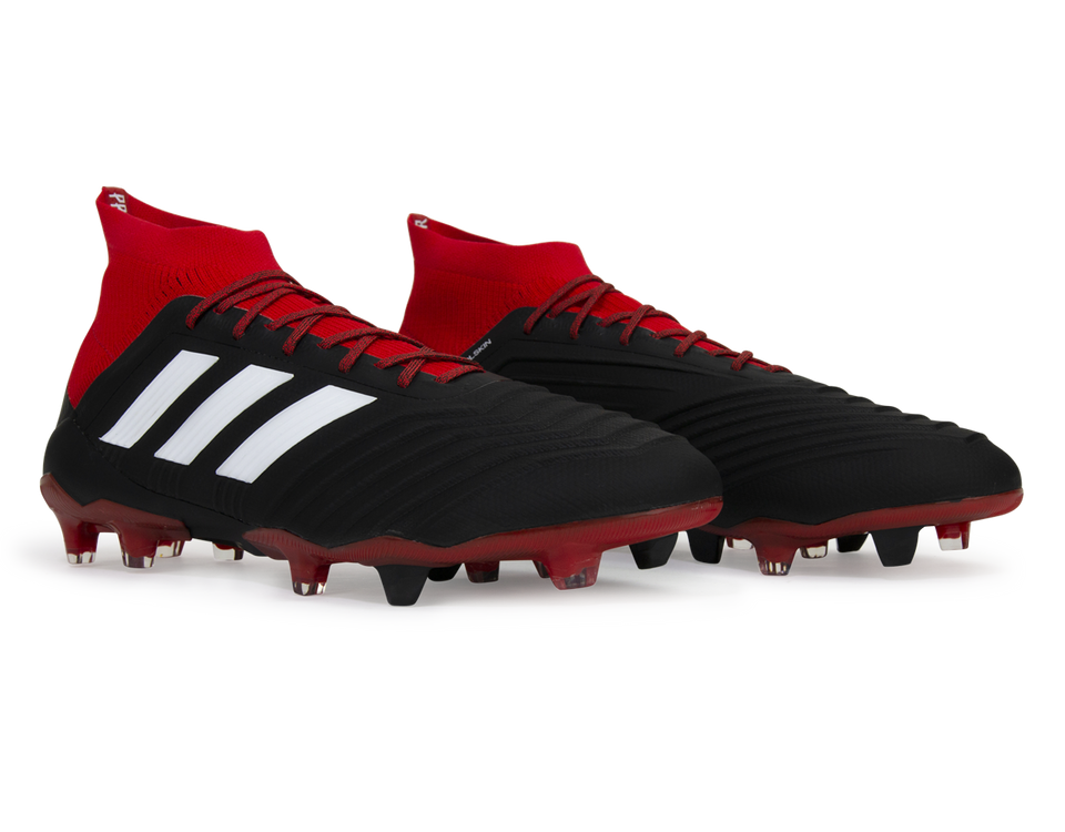 adidas Men's Predator 18. 1 FG Core Black/White