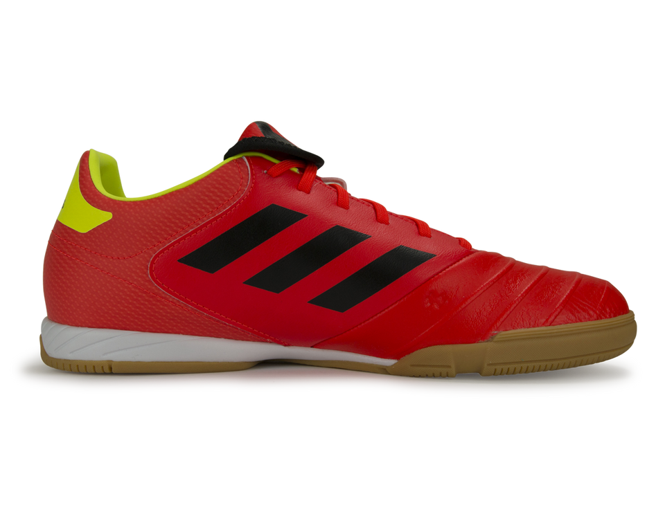 adidas Men's Copa 18.3 Indoor Soccer Shoes Solar Red/Core Black