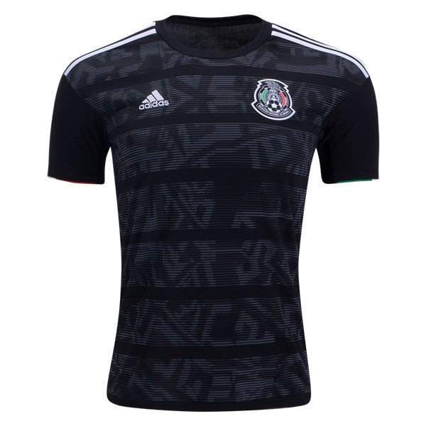 adidas Kid's Mexico 19/20 Home Jersey Black/White