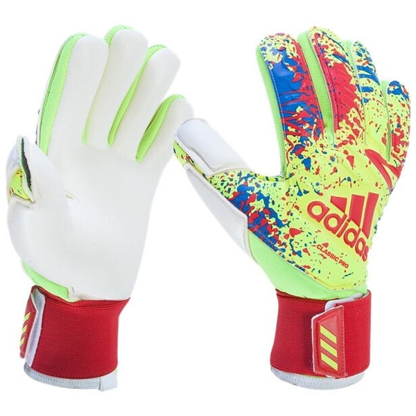 adidas Men's Classic Pro Goal Keeper Gloves Solar Yellow/Actual Red