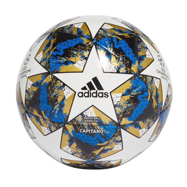 adidas UCL Finale 19 Capitano Ball White/Blue/Black/Gold Metallic