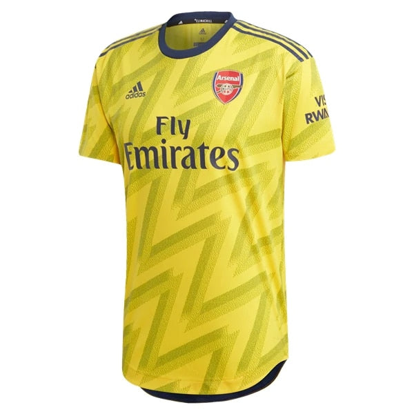 adidas Men's Arsenal FC 19/20 Authentic Away Jersey Eqt Yellow