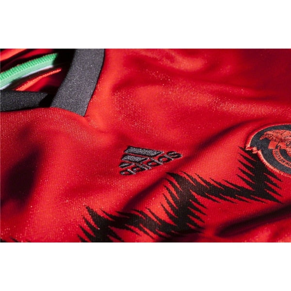 adidas Kids Mexico 14/15 Away Jersey Red/Black
