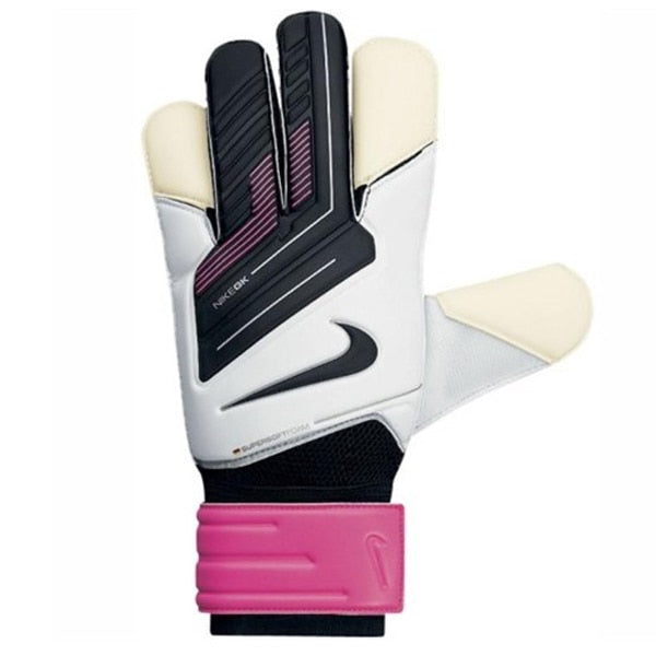 Nike Men's Classic Goalkeeper Gloves White/Pink/Black