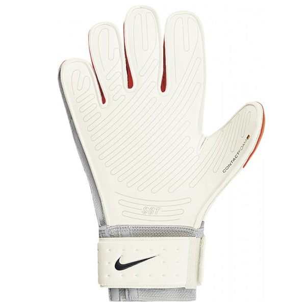Nike Men's Goalkeeper Premier SGT Gloves White/Red