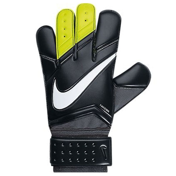 Nike Men's Vapor Grip 3 Goalkeeper Gloves Black