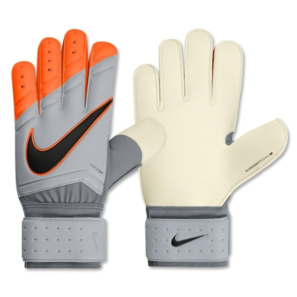 Nike Men's Goalkeeper Spyne Pro Gloves Wolf Grey/Total Orange/Black