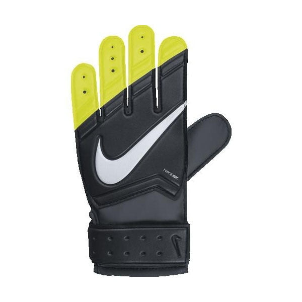 Nike Kids Goalkeeper Grip Gloves Black