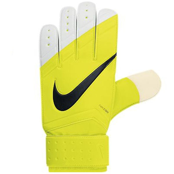 Nike Kids Goalkeeper Grip Gloves Volt/Black/White