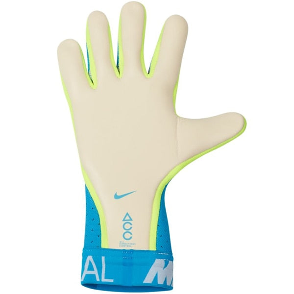 Nike Men's Mercurial Touch Elite Goalkeeper Gloves Blue Hero/White