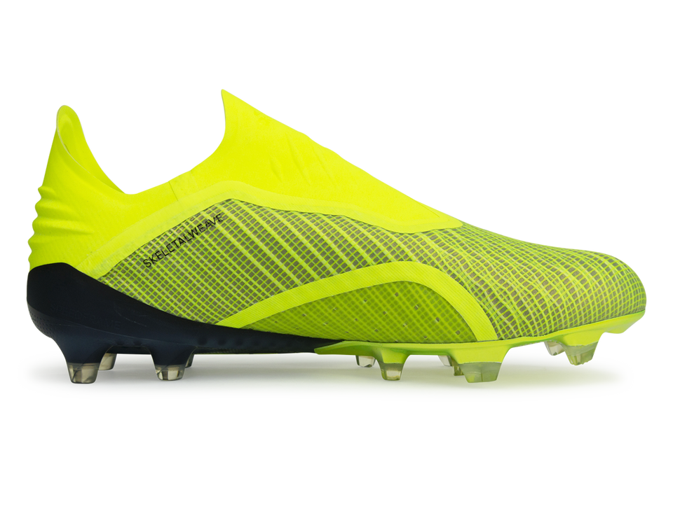 adidas Men's X 18+ Solar Yellow/Core Black/White