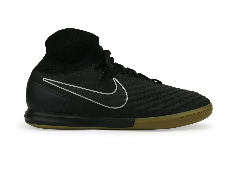 Nike Men's MagistaX Proximo II Indoor Soccer Shoes Black/Gum Light Brown