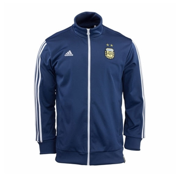 adidas Youth Argentina Track Top Jacket Night Marine/White