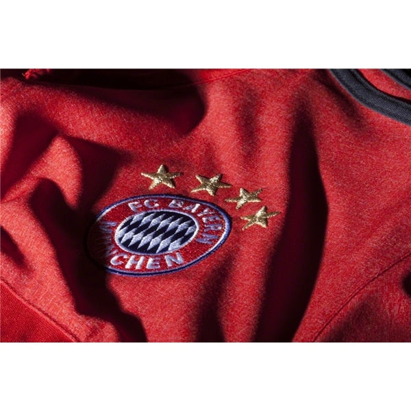 adidas Men's FC Bayern Munich Anthem Jacket Red/Dark Grey/Black
