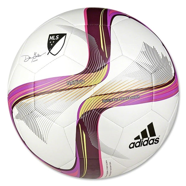 adidas MLS 2015 Glider Ball White/Flash Pink