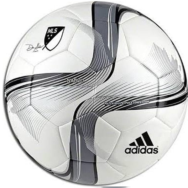 adidas 2015 MLS Competition NFHS Soccer Ball White/Black/Silver