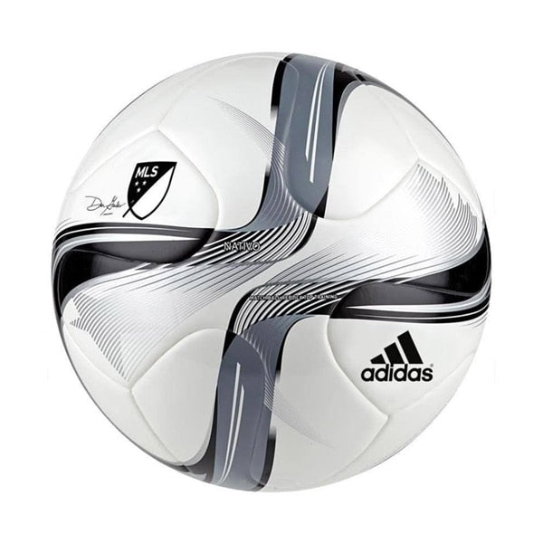 adidas MLS 2015 Top Training Ball White/Black/Silver