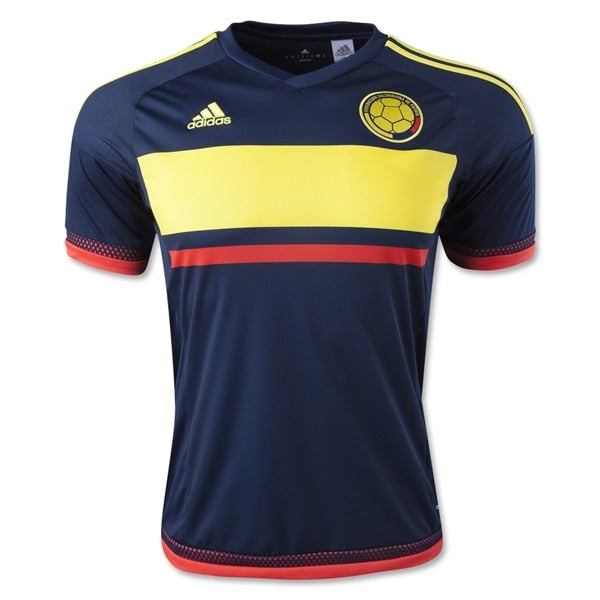 adidas Kids Colombia 15/16 Away Jersey Collegiate Navy/Bright Yellow/Bright Red