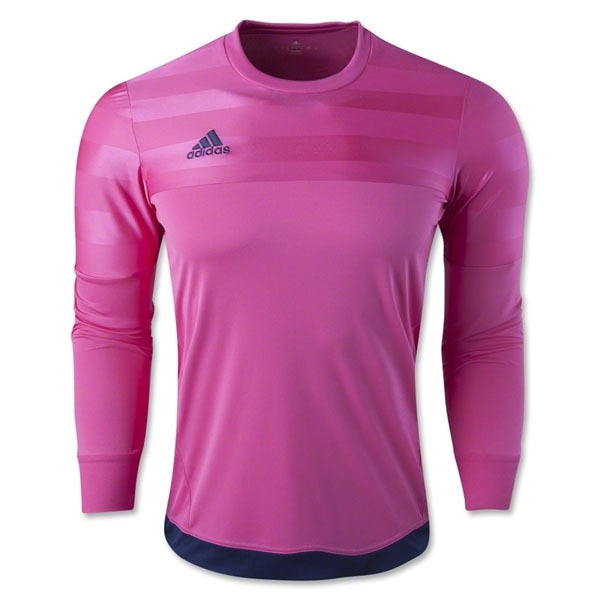 adidas Youth Entry 15 Goalkeeper Jersey Pink/Dark Blue
