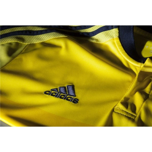 adidas Kids Colombia 15/16 Home Jersey  Bright Yellow/Collegiate Navy