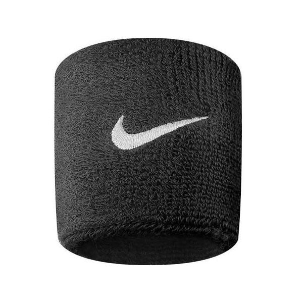 Nike Swoosh Wristband One Size Fits Most Black