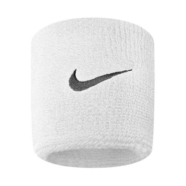 Nike Swoosh Wristband One Size Fits Most White