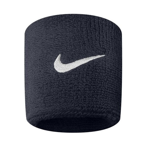 Nike Swoosh Wristband One Size Fits Most Navy