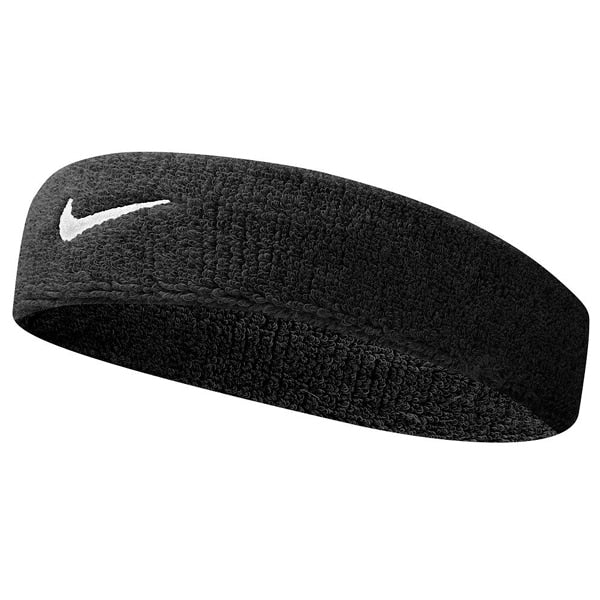Nike Swoosh Headband One Size Fits Most Black