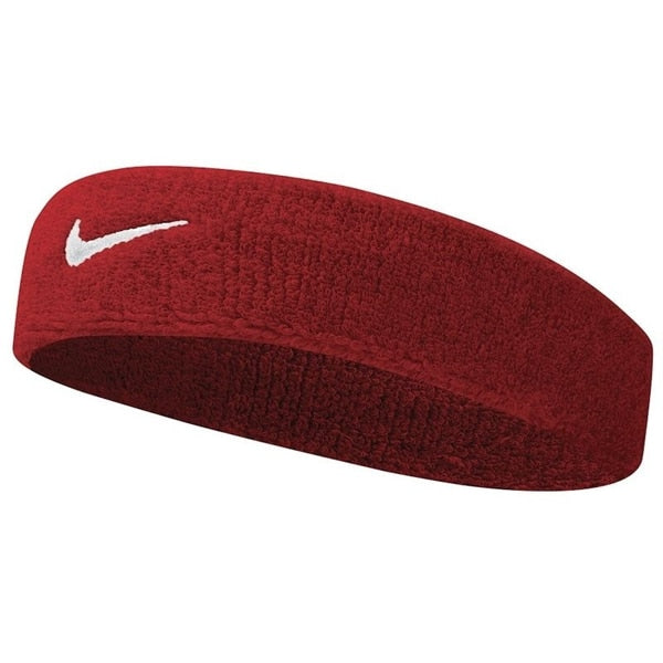 Nike Swoosh Headband One Size Fits Most Maroon