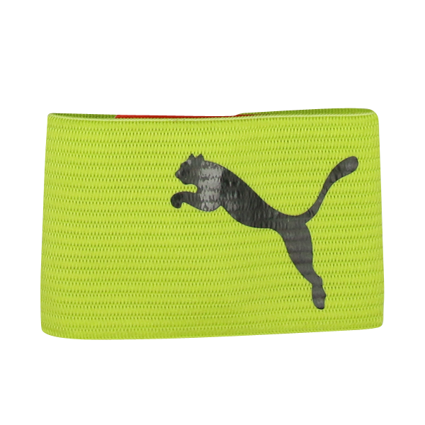 PUMA Kids Reversible Captain's Armband Lime/Black