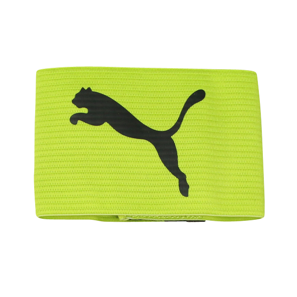 PUMA Reversible Captain's Armband Lime/Black