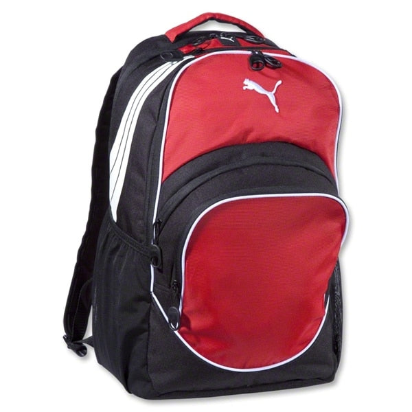 PUMA Team Sport Formation Ball Backpack Red