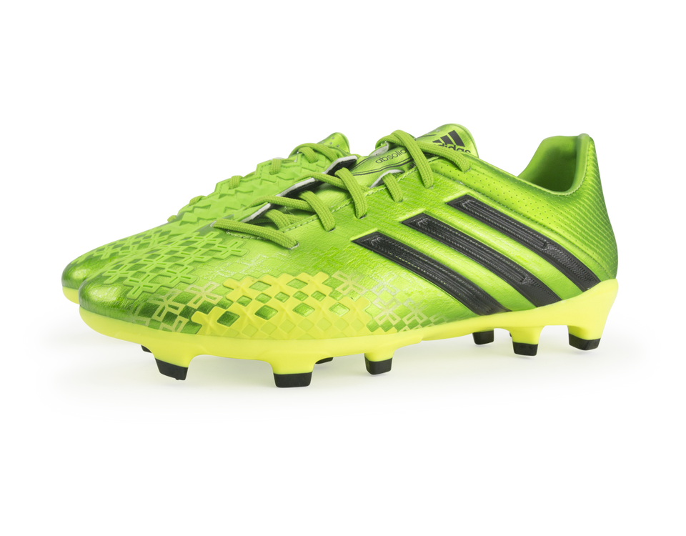 adidas Men's Predator Absolion LZ TRX FG Ray Green/Black/Electricity