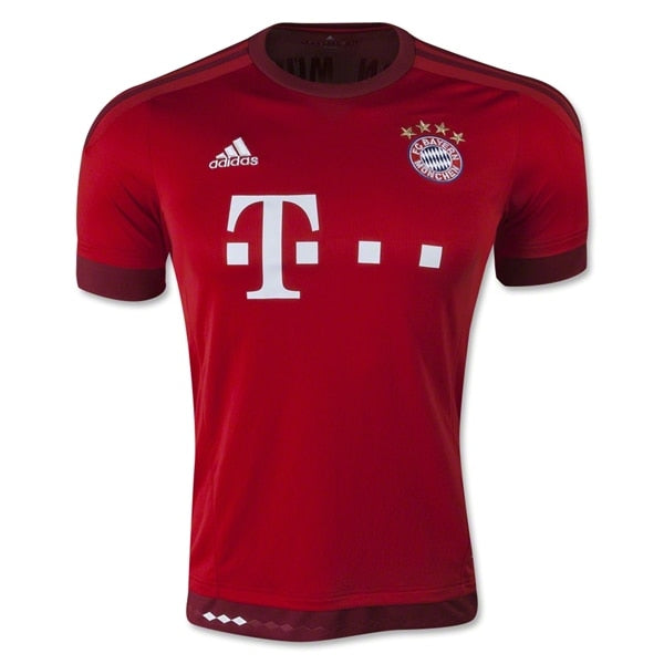 adidas Youth FC Bayern Munich 15/16 Home Jersey FCB True Red
