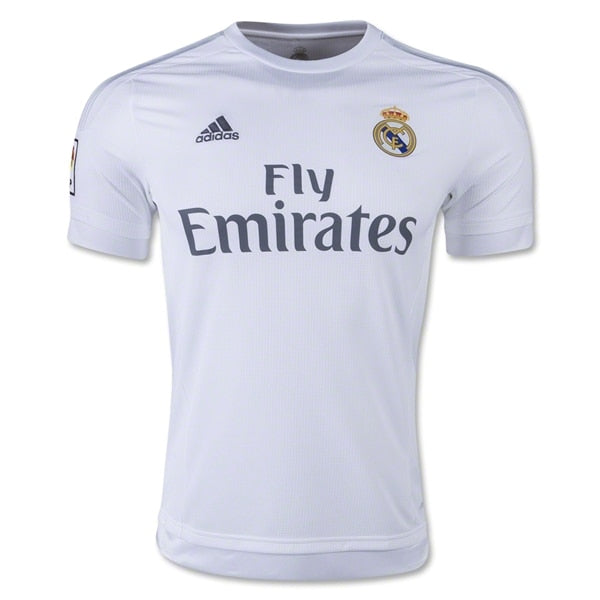 adidas Kids Real Madrid 15/16 Home Jersey  White/Clear Grey/Onix