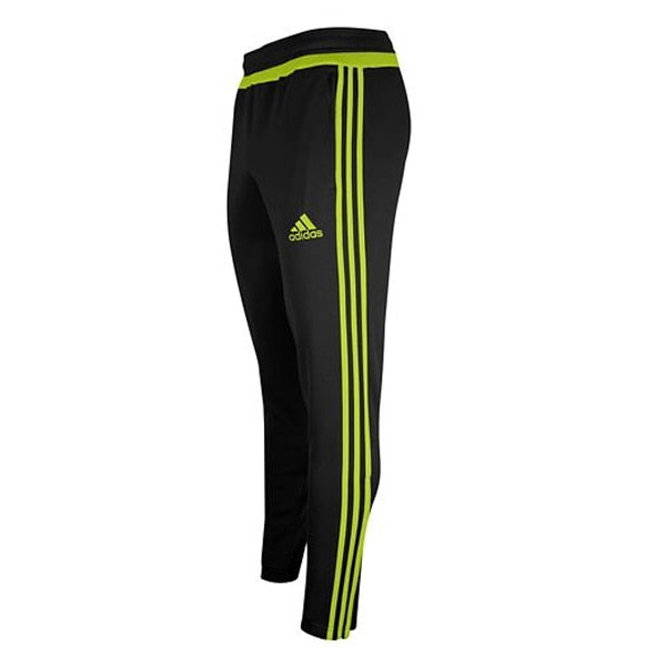 adidas Kids Tiro 15 Soccer Training Pants Black/Semi Solar Yellow/Black