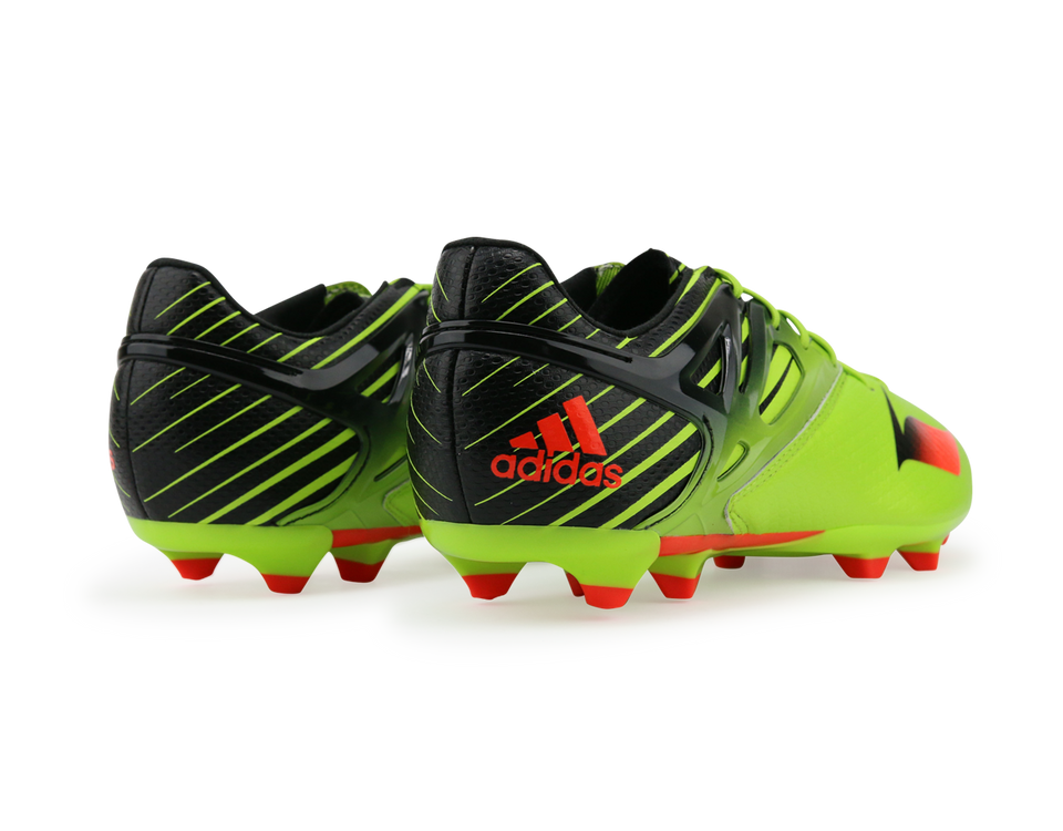 adidas Kids Messi 15.1 FG/AG Semi Solar Slime/Infrared/Black