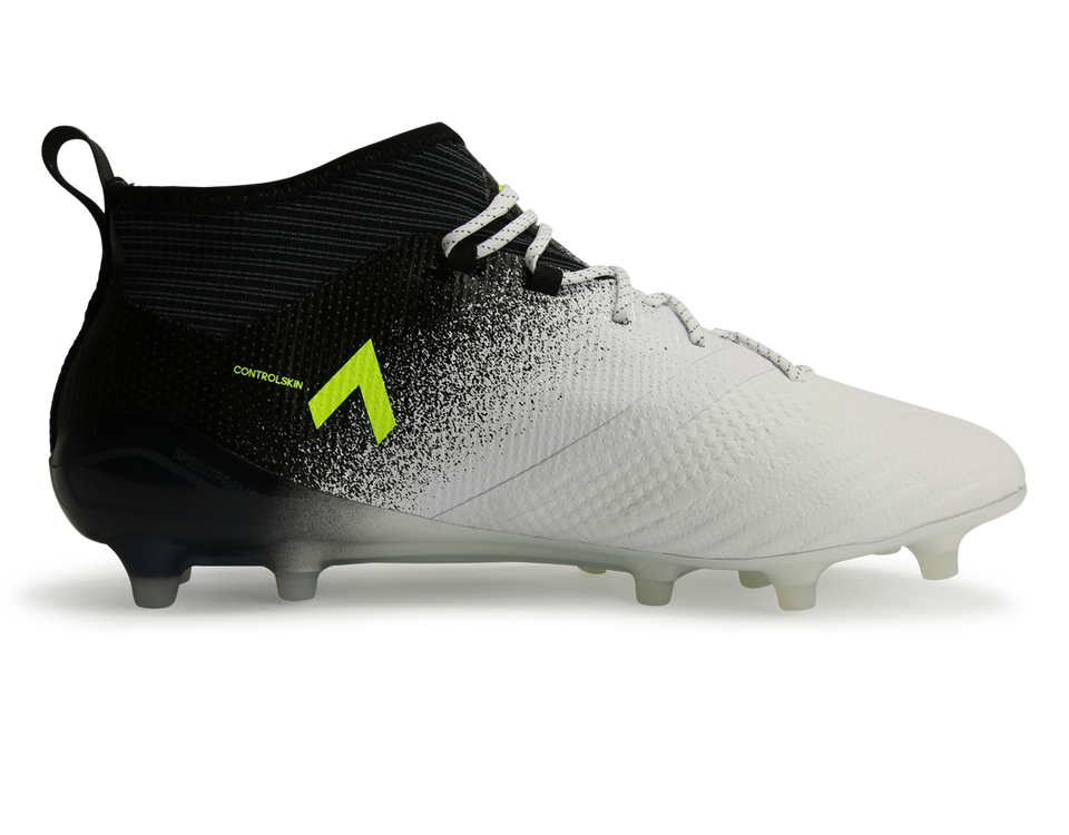 adidas Men's ACE 17.1 FG White/Solar Yellow/Core Black
