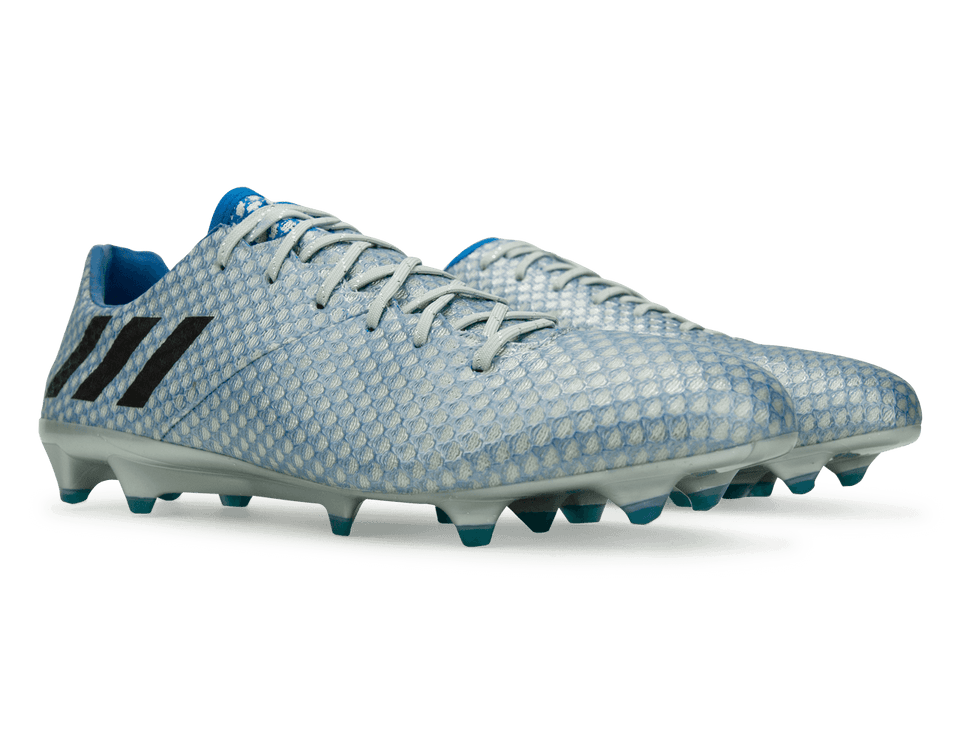adidas Men's Messi 16.1 FG Silver Metalic/Core Black/Sho Blue