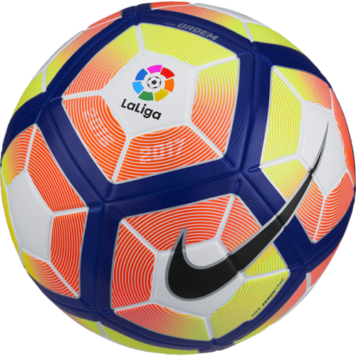 Nike Liga BBVA Ordem 4 Ball White/Orange/Blue/Black