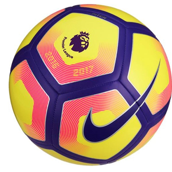 Nike Pitch Premier League Ball Yellow/Purple/Pink