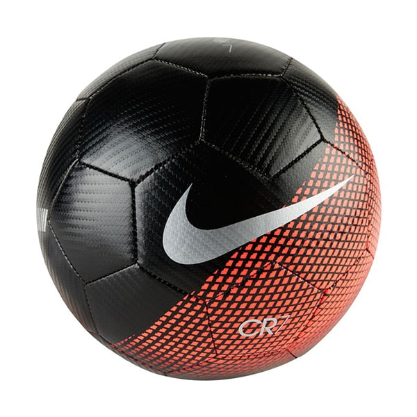 Nike CR7 Prestige Ball Black/Flash Crimson