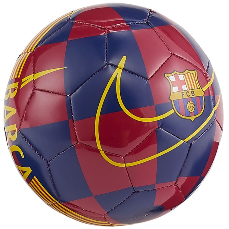 Nike FC Barcelona Skills Ball Deep Royal/University Gold