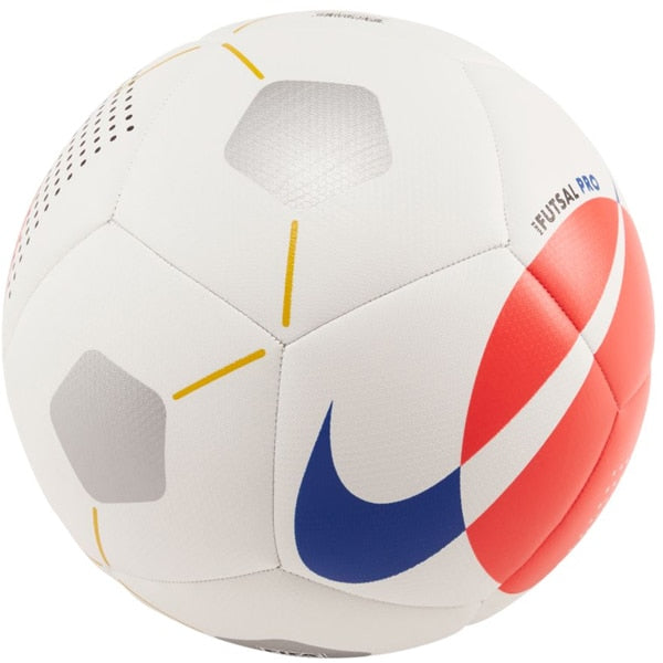 Nike Pro Futsal Ball White/Bright Crimson/Racer Blue