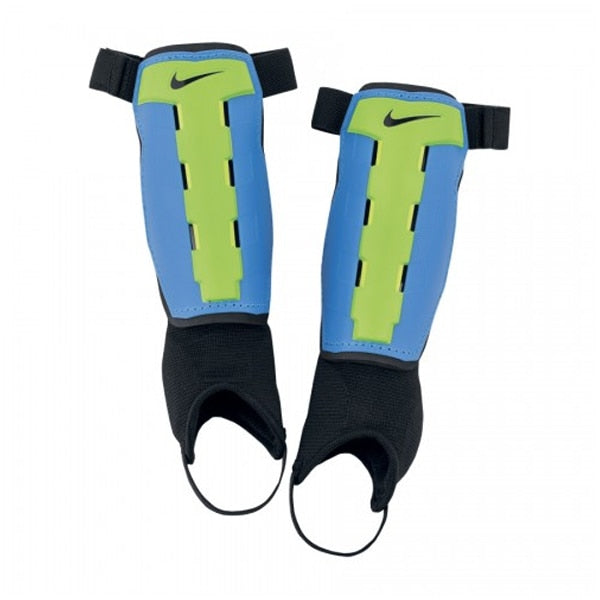 Nike Youth Charge Shin Guards Photo Blue/Electric Green/Volt