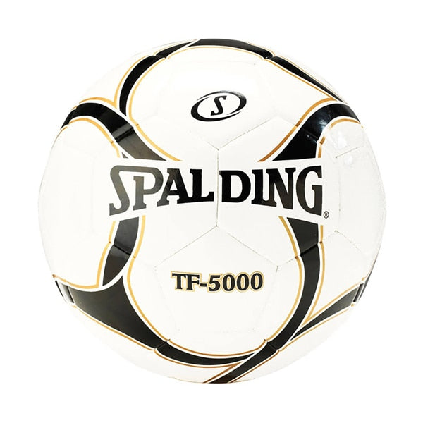 Spalding NFHS TF-5000 Soccer Ball  White/Gold