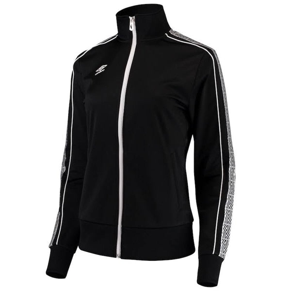 Umbro Women's Track Jacket Black/White