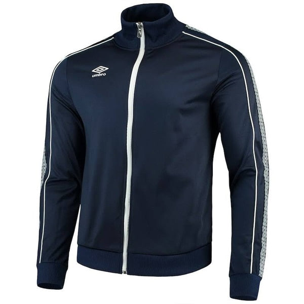 Umbro Men's Diamond Jacket Navy/White