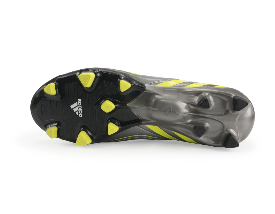 adidas Men's Predator LZ TRX FG Black/Neo Iron Metallic/Lab Lime